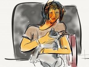 rachele e la gatta sophie